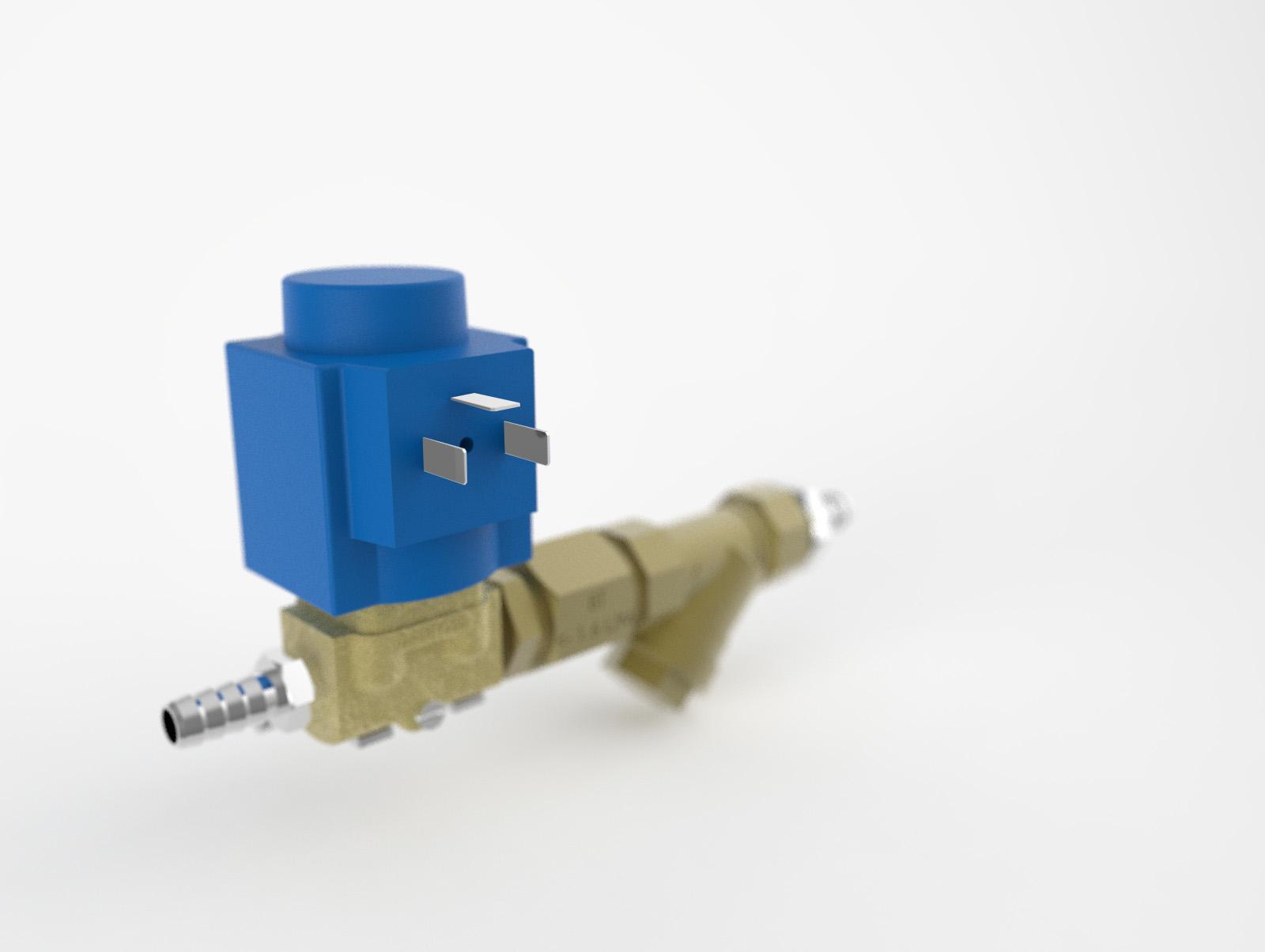 CIP med ventil till BLUE LINE oljedimavskiljare rengör rotorn automatiskt under bearbetningsprocessen och du slipper tänka på underhåll