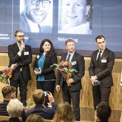3nine en av fem finalister i företagstävlingen Smart industri